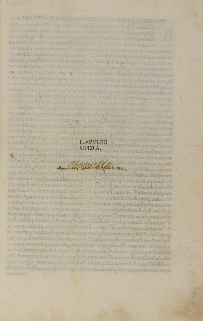 Apuleius, 1493
