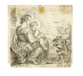 Della Bella, La Santa Vergine Ed Il Bambin Gesù