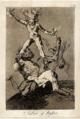 Goya, Subir Y Bajar