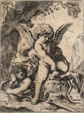 Loli, Cupido Spezza L'arco E Le Frecce