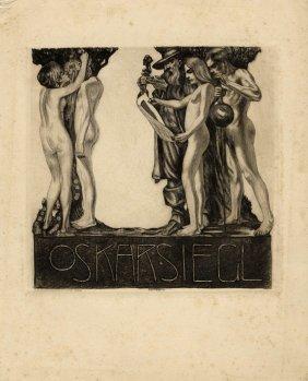 Kolb, Ex Libris Oskar Siegel