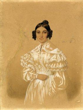 Demange, Ritratto Di Josephine Demange