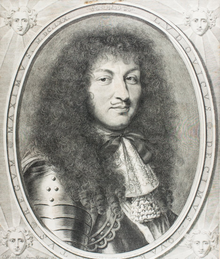 Ludovicus Decimus Quartus Regum Maximus.
