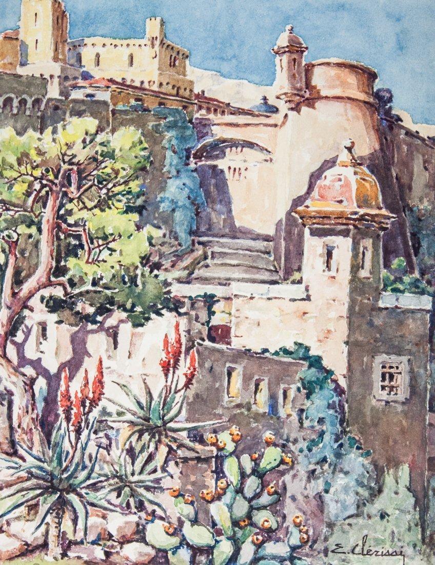 Giardino esotico. Principato di Monaco.