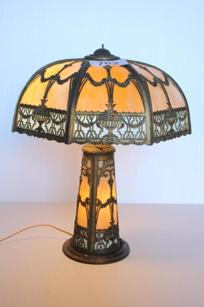 702: Table Lamp- Marked N.W.A.S. Co 35