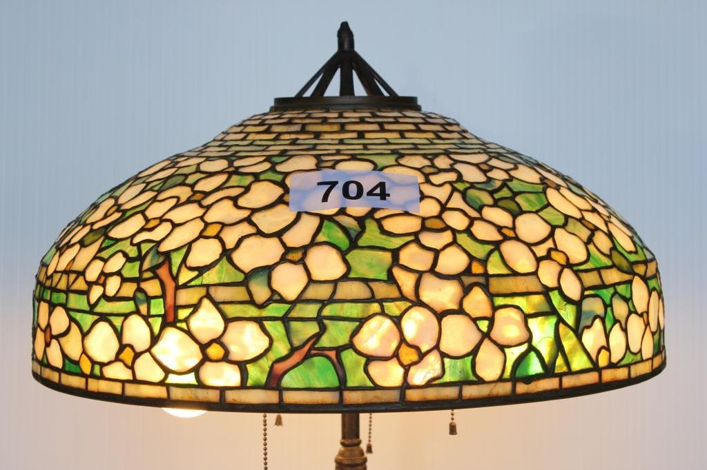 704: Table Lamp-Chicago Mosaic Lamp Company