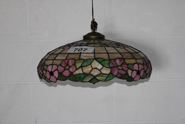 707: Hanging Leaded Glass