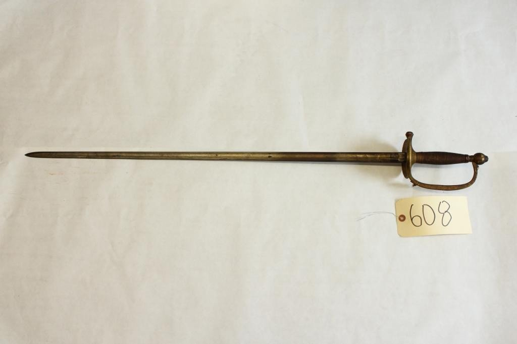608: US Model 1840 Non-Commissioned Officer's Sword