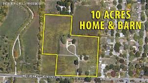 4: 10 Acres, Home & Barn