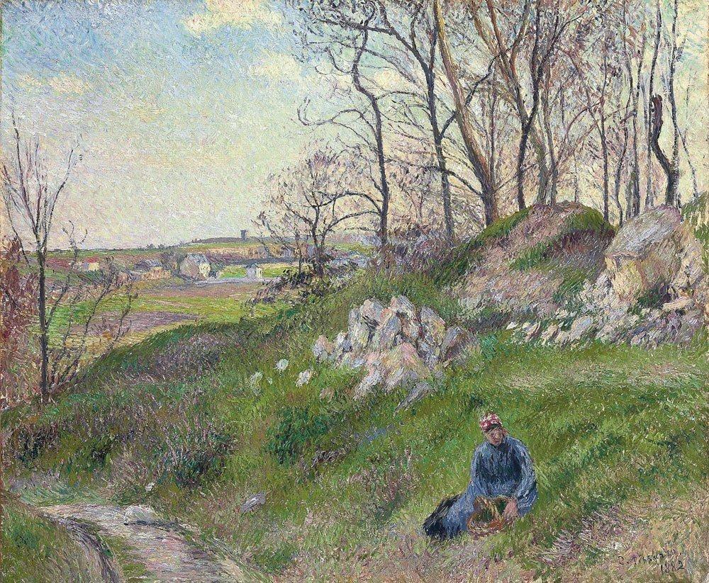 20: Camille Pissarro 1830-1903 (French) Les carrières d