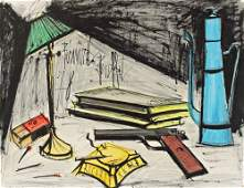 119 Bernard Buffet 19281999 Nature morte  la lampe e