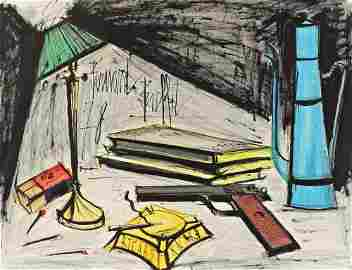 119: Bernard Buffet 1928-1999 Nature morte � la lampe e