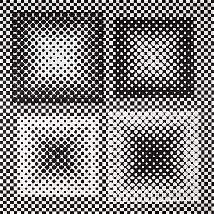125: Victor Vasarely 1908-1997 I Ker, 1980 Huile sur to