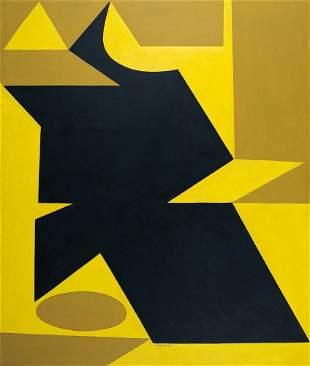 129: Victor Vasarely 1908-1997 Karim, 1949 Huile sur is