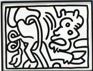 28: Keith Haring
