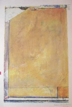 After Richard Diebenkorn Untitled Signed