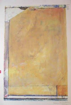 111: After Richard Diebenkorn Untitled Signed