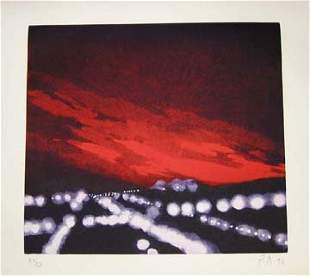 Peter Alexander Untitled Etching and aqu