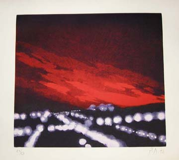 113: Peter Alexander Untitled Etching and aqu