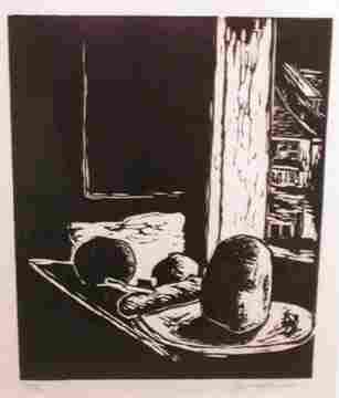 Hans Burkhardt Untitled (Still Life) Woo