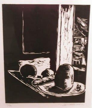 124: Hans Burkhardt Untitled (Still Life) Woo