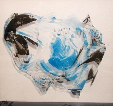 126: John Chamberlain Untitled Lithograph on