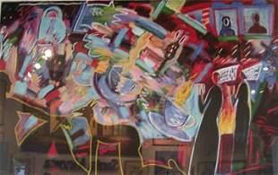 Carlos Almaraz Tea For Two Color serigra