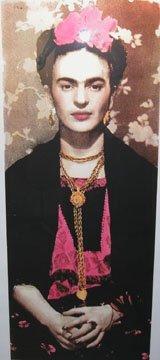 130: Richard Duardo Long Frida Hand painted s