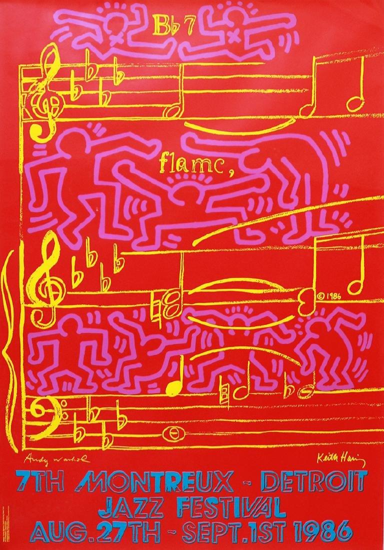 Keith Haring & Andy Warhol (1958-1990 / 1928-1987)