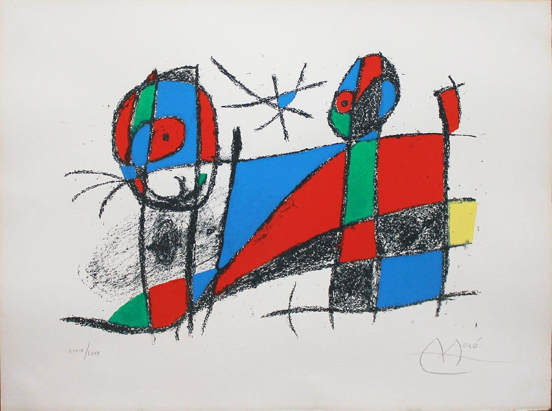 Joan Miro (1893-1983) Lot of Four