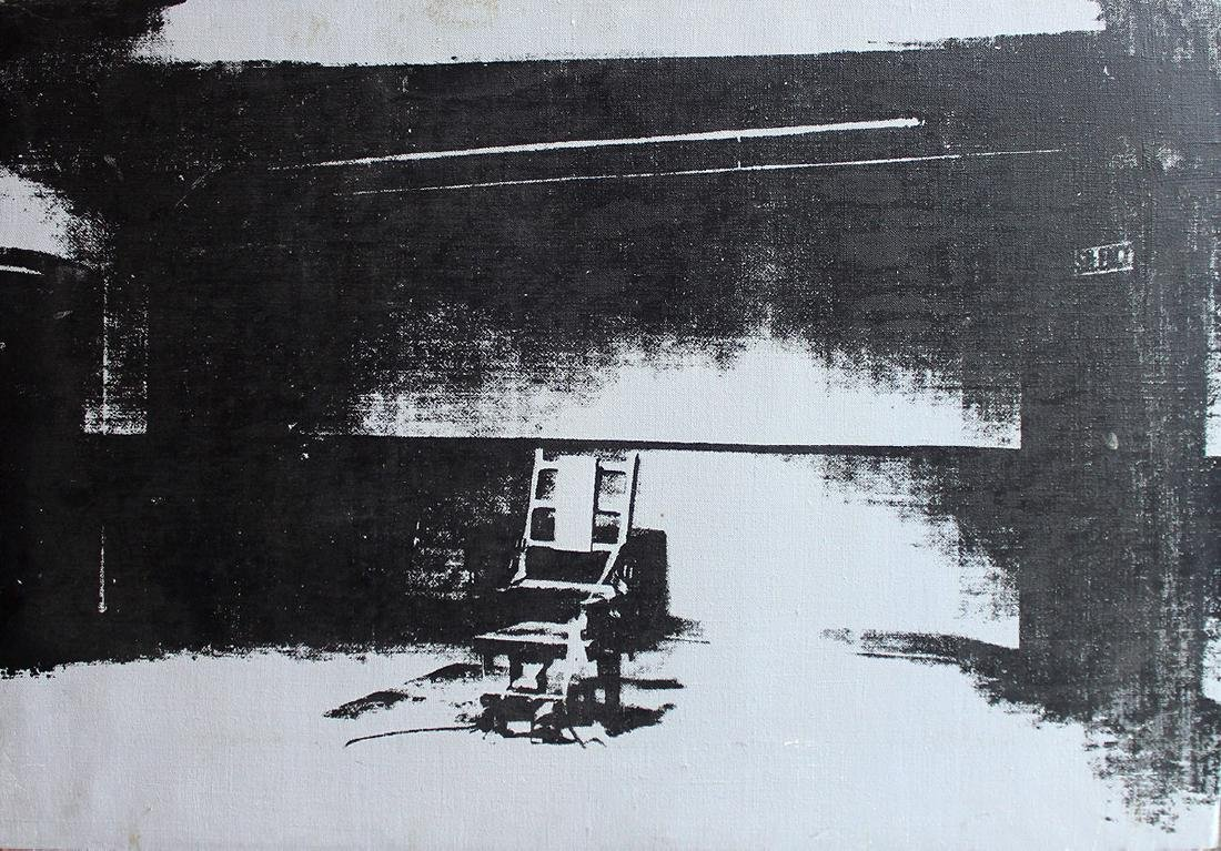 After Andy Warhol Electric Chair, c. 1976