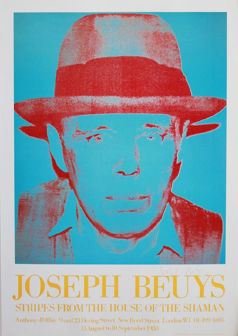 After Andy Warhol Andy Warhol Joseph Beuys, 1980