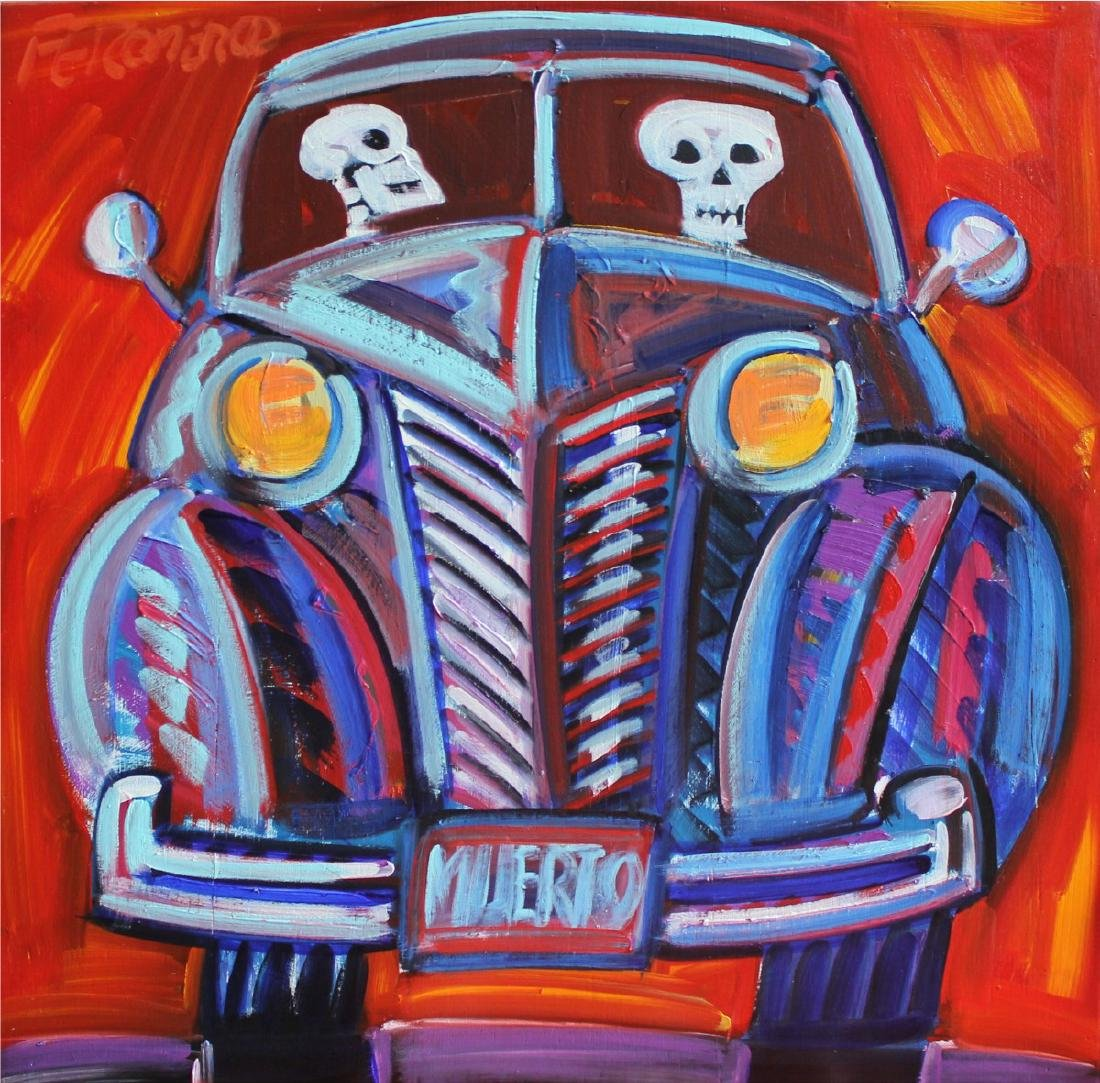 Frank Romero (Born 1941)