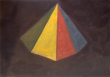 148: Sol Lewitt Untitled (Single Pyramid)