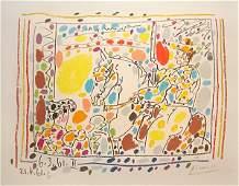 211: Pablo Picasso Le Picador II from A los Toreros ave