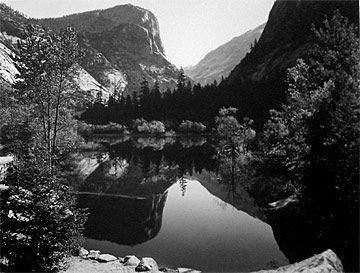 3: Ansel Adams_Mirror Lake, Mt. Watkins