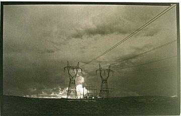 16: Dick Arentz_Power Lines at Glen Canyon Dam, Cameron