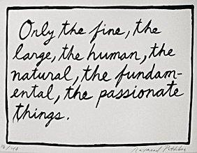 204: Raymond Pettibon_Only the fine…