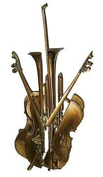 18A: Arman_Twin Violins & Trumpet