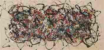 MIKE BIDLO, After Jackson Pollock