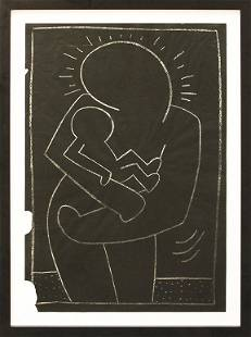 Keith Haring, Madonna and Child, 1983