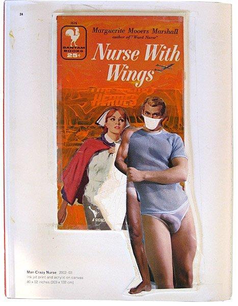 267: Richard Prince Nurse with wings