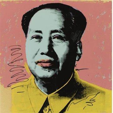 349: Andy Warhol Mao