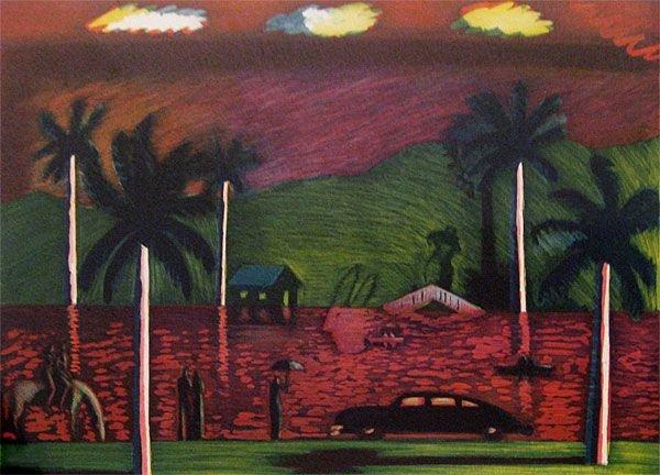 7A: Carlos Almaraz Red Lake, 1986