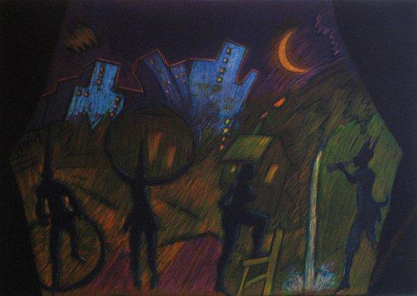5: Carlos Almaraz Untitled