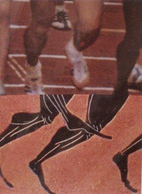 John Balessari Los Angeles 1984 Olympic Poster