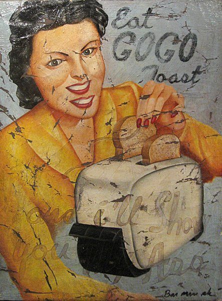 20: Bill Barminski Untitled (Eat GOGO Toast)