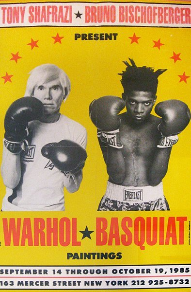 21: After Jean-Michel Basquiat and Andy Warhol
