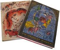 48 Marc Chagall Lot of Two Artist Books