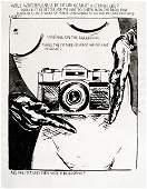 215: Raymond Pettibon No Title (Waiting on the Darkroom